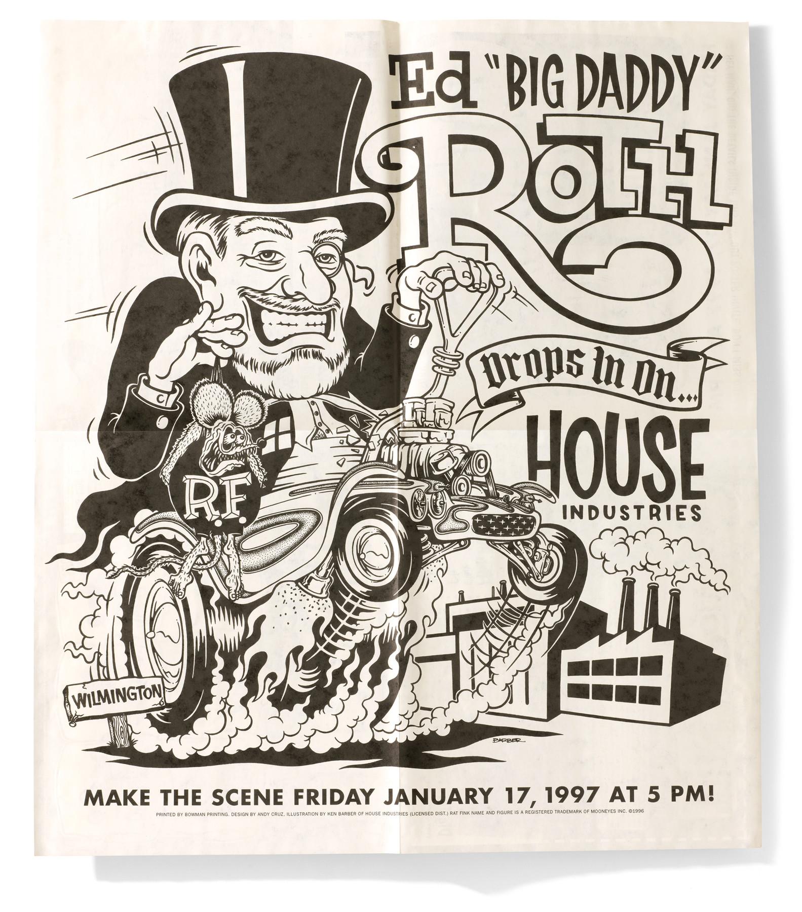 Ed Big Daddy Roth House Industries